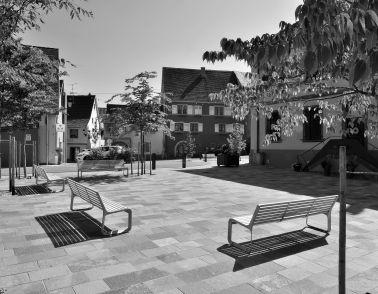 Place de la Mairie à Pfaffenheim