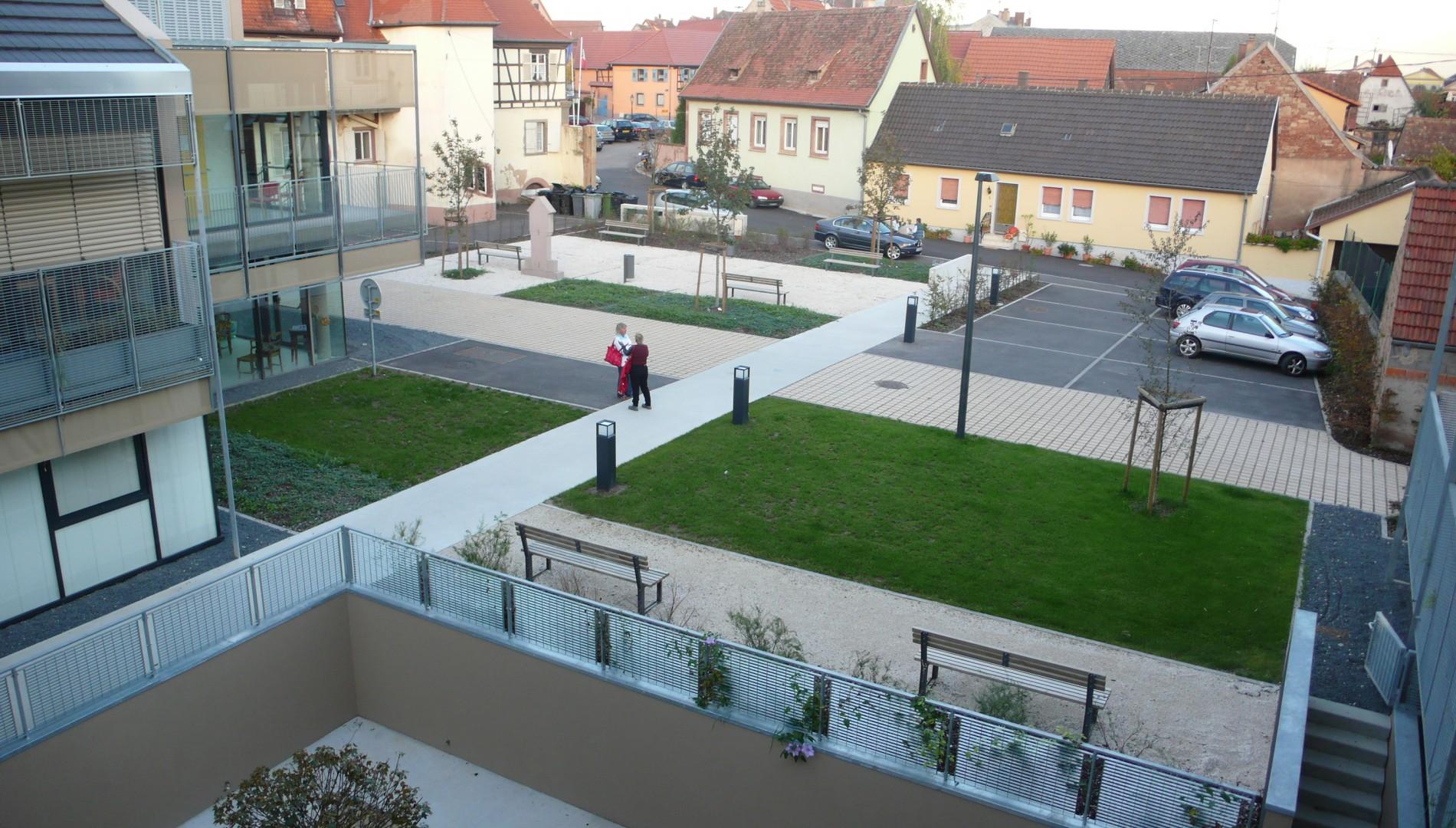 Maison de retraite marlenheim knl architecte for Architecture maison de retraite