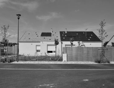 Maison pour nomades sédentarisés à Colmar