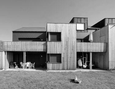 Logements sociaux en ossature bois à Weckolsheim