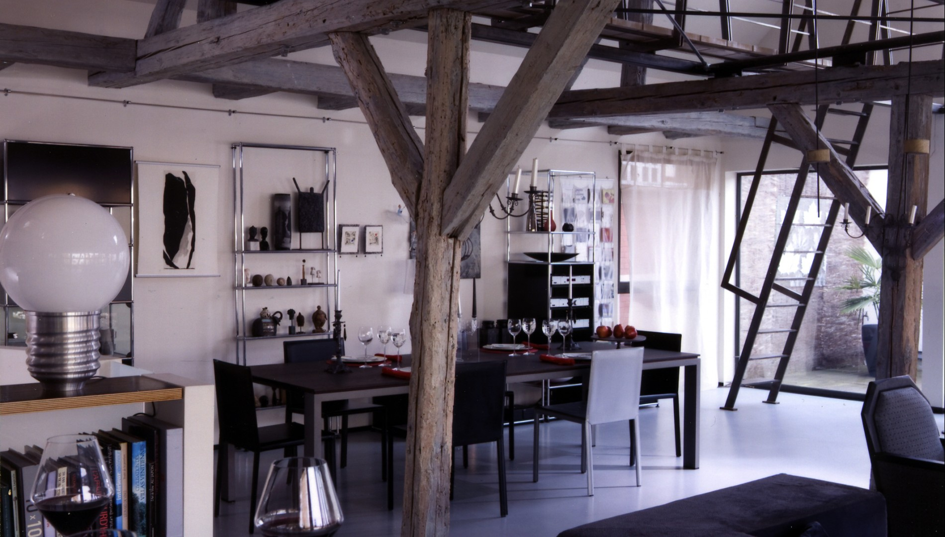 transformation d une d pendance en logement colmar knl architecte. Black Bedroom Furniture Sets. Home Design Ideas